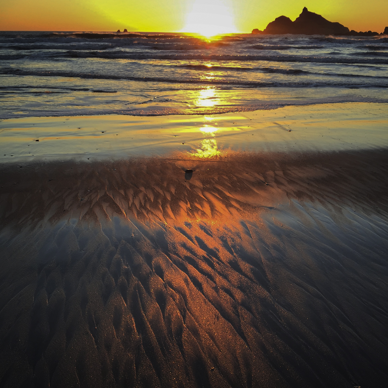 Crescent City sunset ( iPhone)
