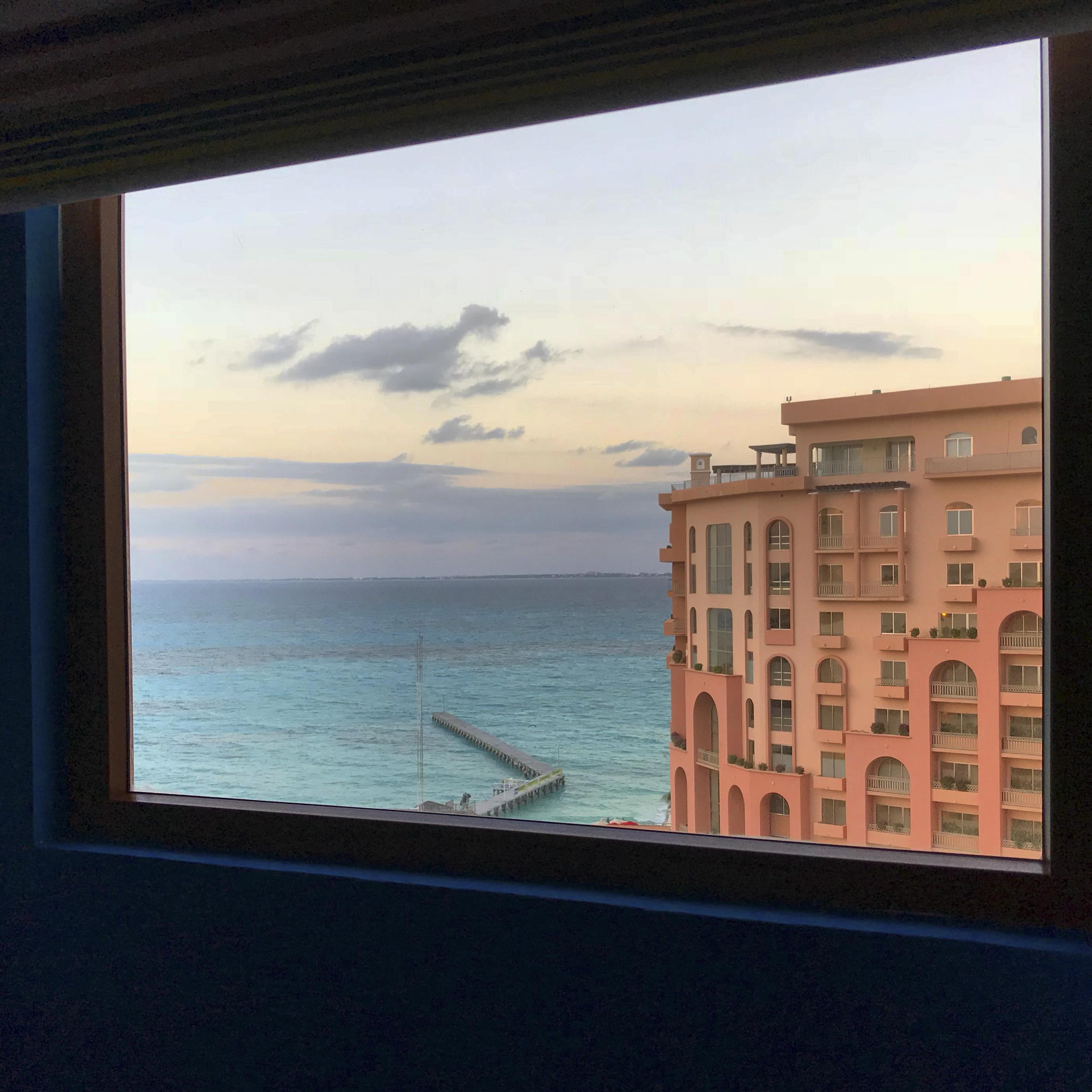 Cancun hotel view