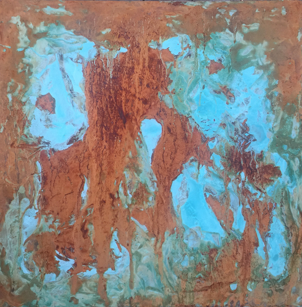 Untitled Patina Rust (Cambridge 2017)