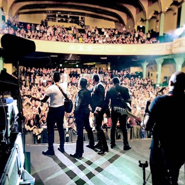 Last night in Glasgow. Amazing crowd. #thankyou #glasgow #scotland @thejacksons