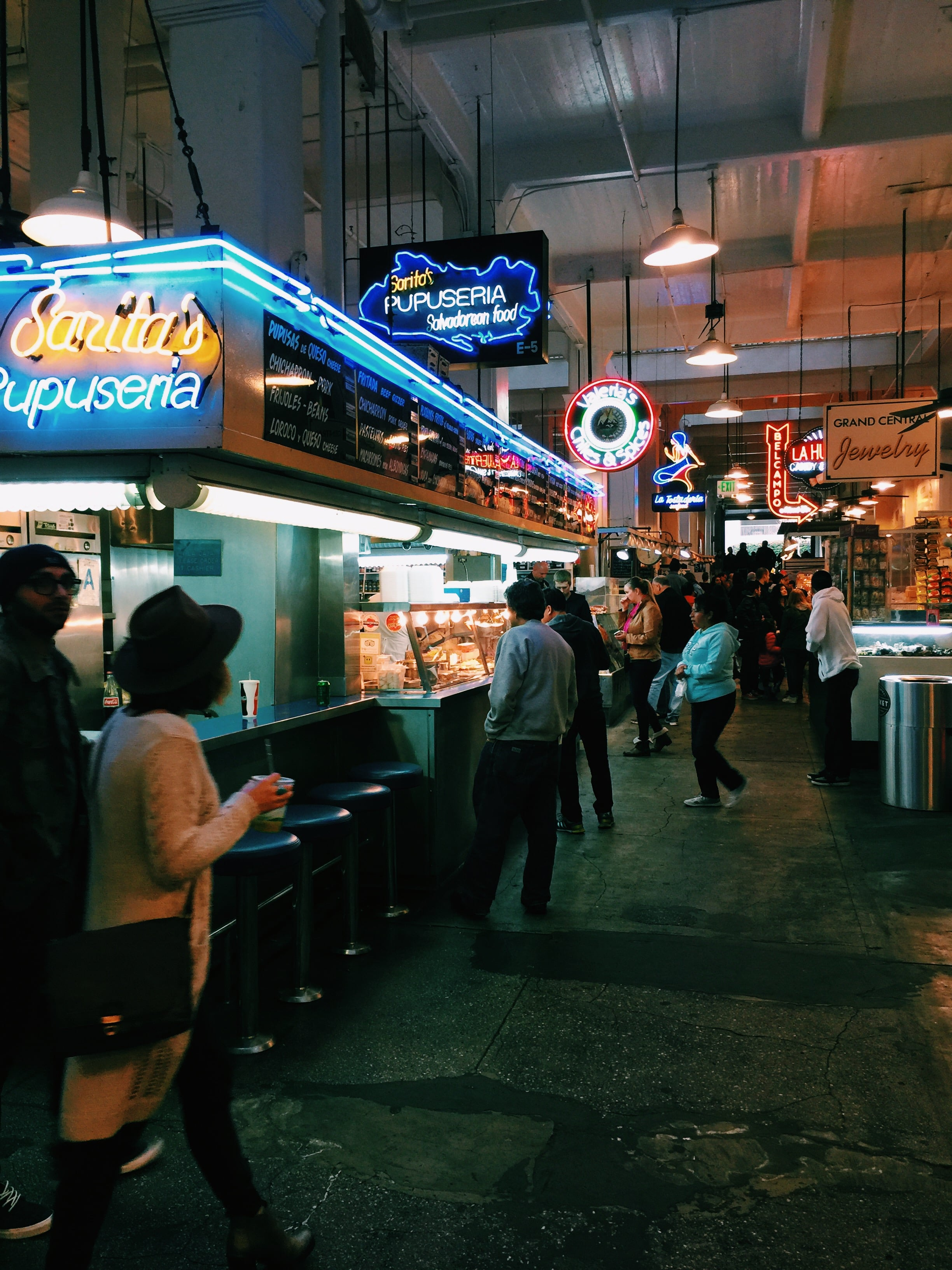 another view inside dtla's grand central market