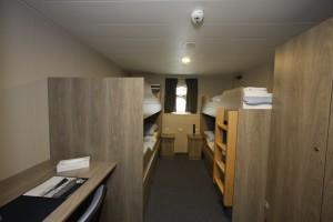 For a berth in a Quadruple cabin : € 3.450,- per person -