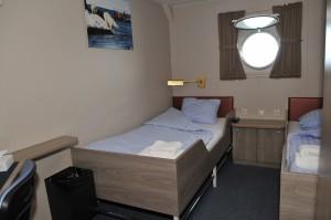 For a berth in a Twin porthole : € 4.800,- per person -