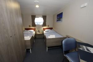 For a berth in a Twin window : € 5.200,- per person -