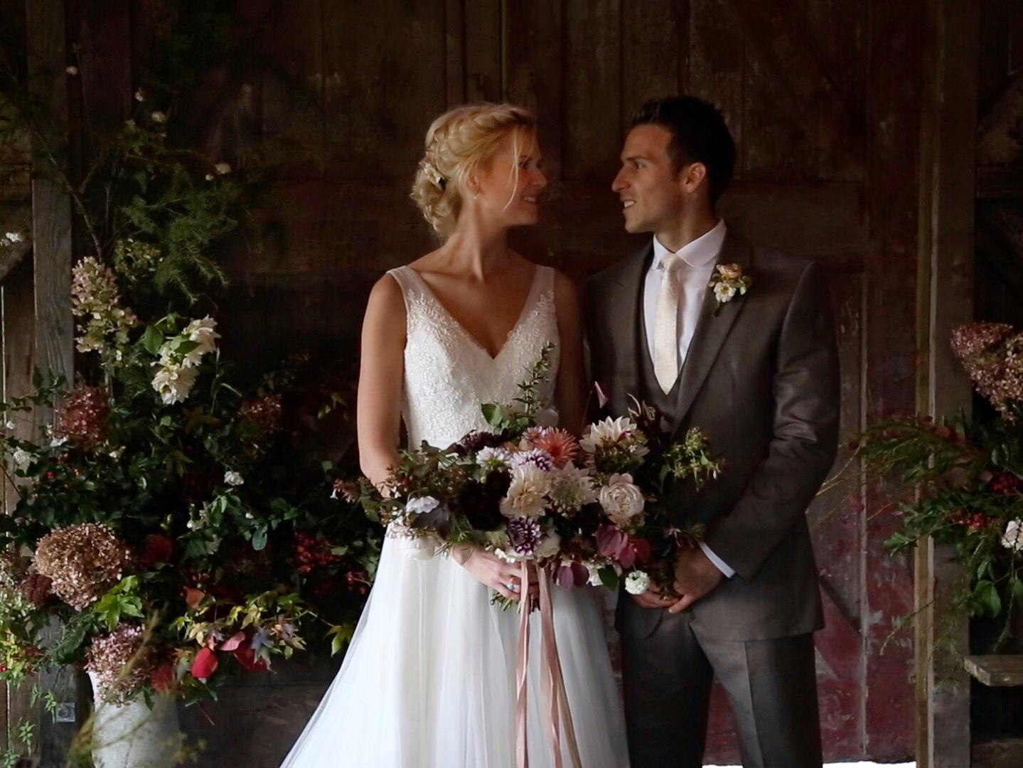Nancarrow Farm Wedding Film Rusty Barn Ceremony