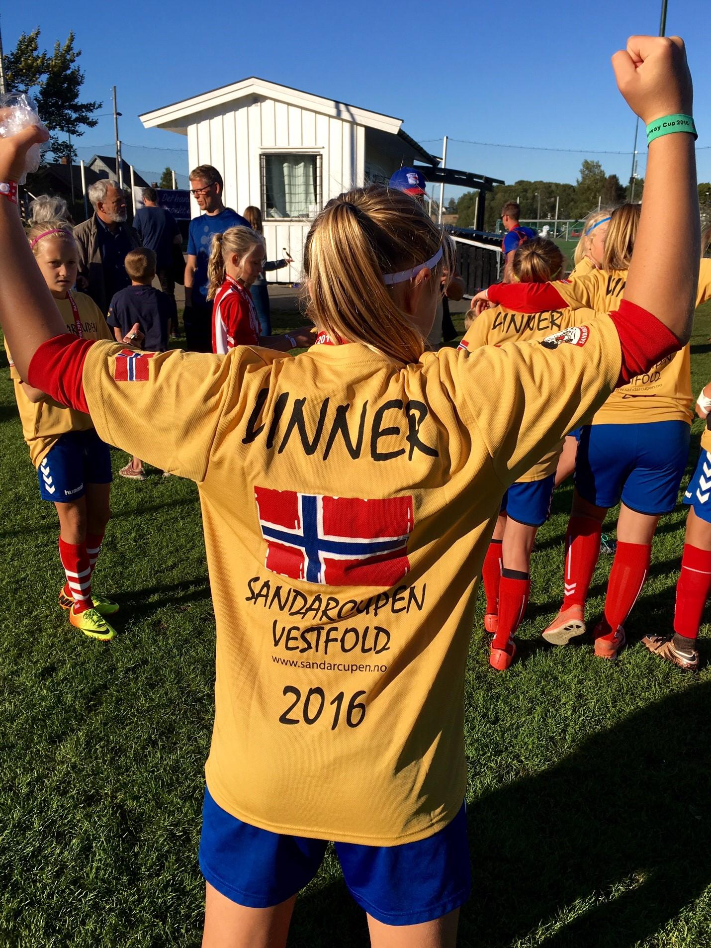 Heia Lyn, 1.Plass Sandarcupen 2016