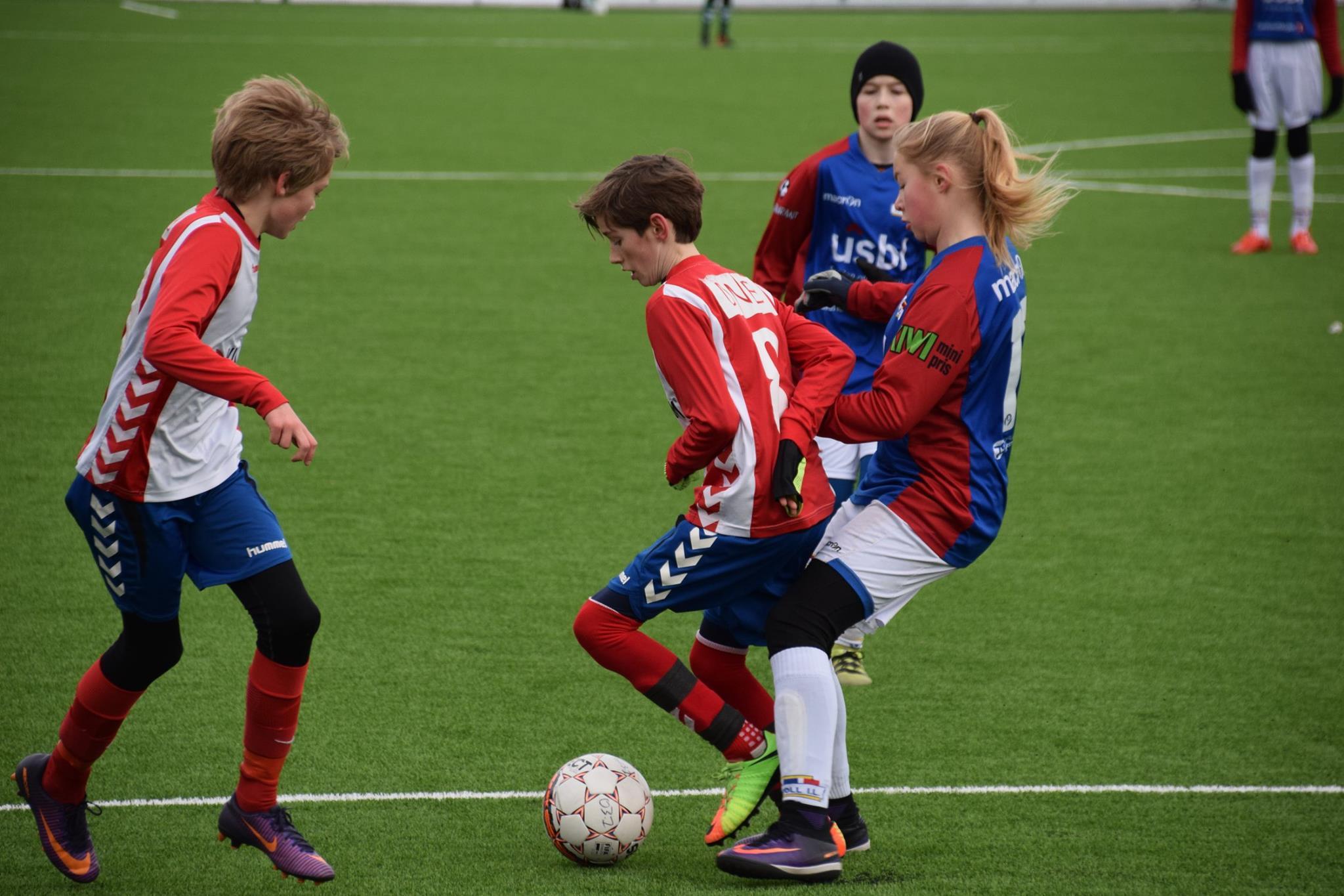 Mads Foss Aaserud var meget god for Lyn G03.1 mot Årvoll. En kamp Lyn vant hele 5-0.