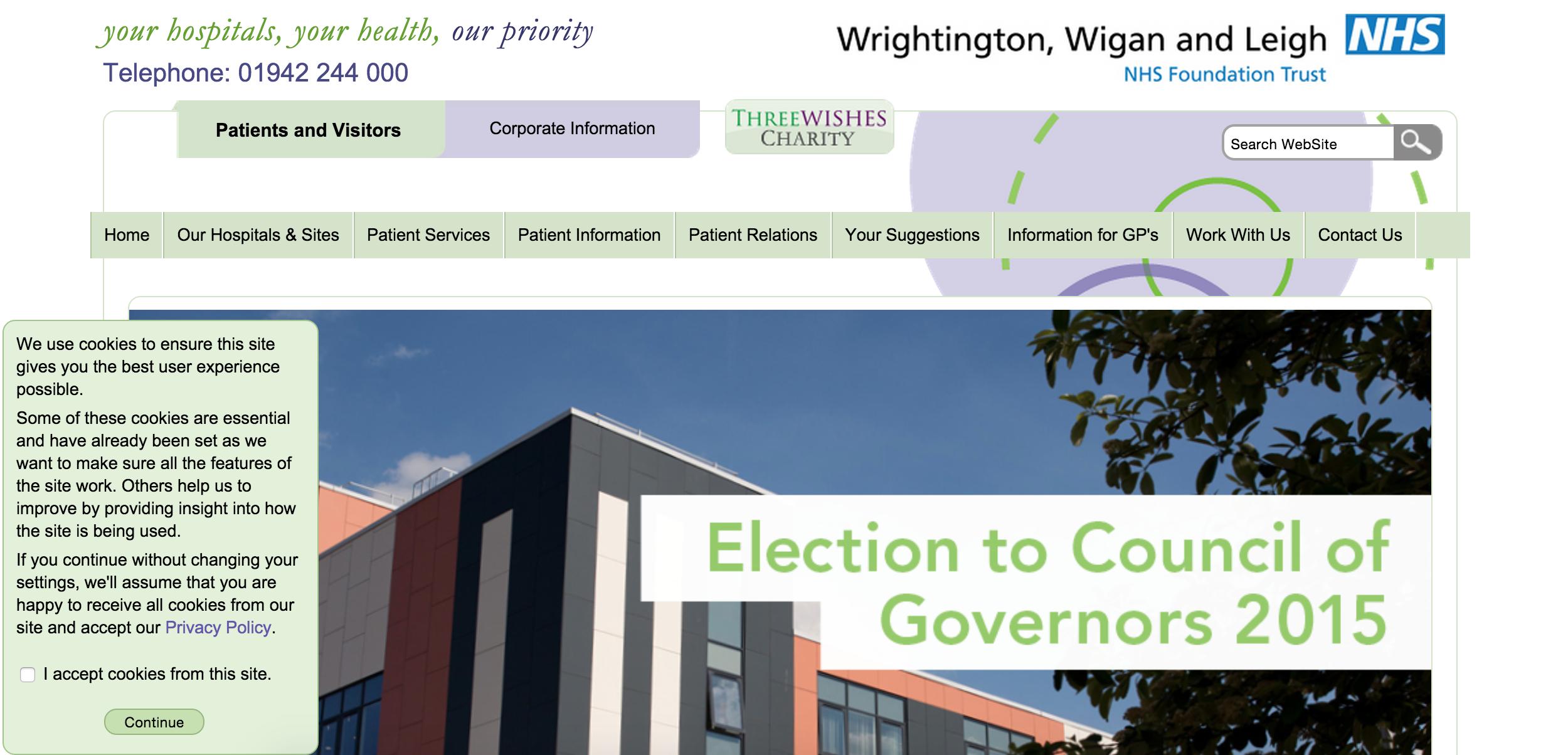 Wrightington, Wigan & Leigh