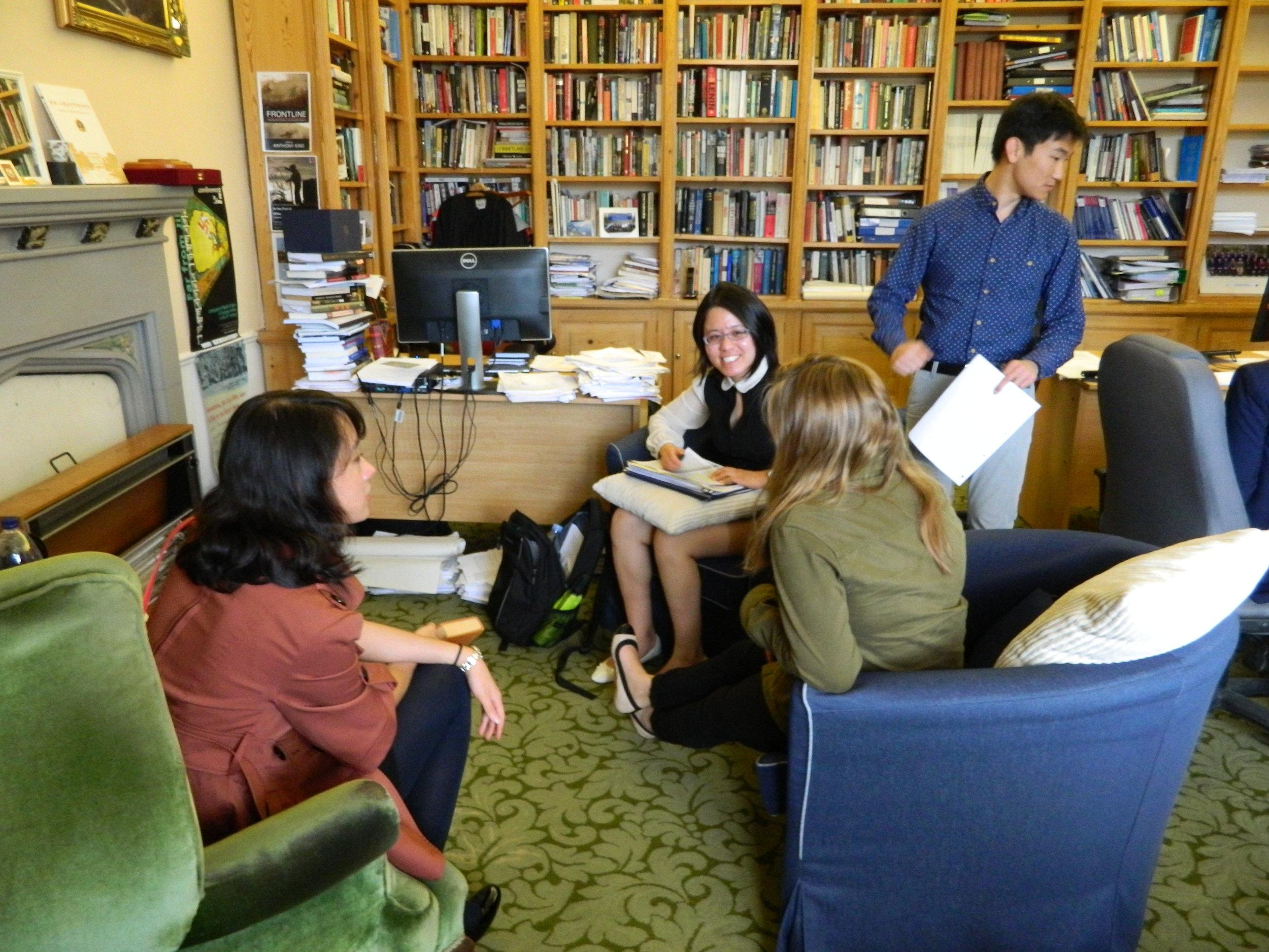 CCW Research Assistants, June 2015