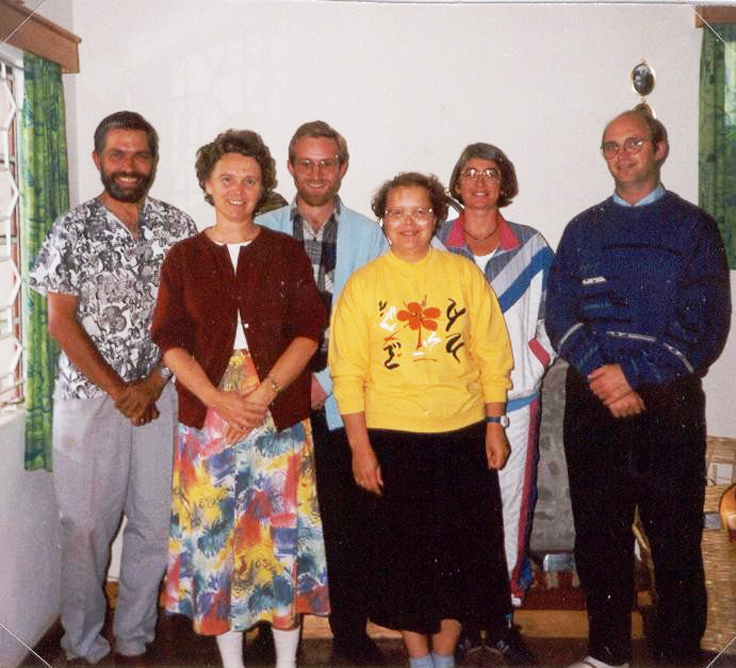 The cooperation between Soma Biblia and Scripture Mission started early. Here from a cooperation meeting in 1992.