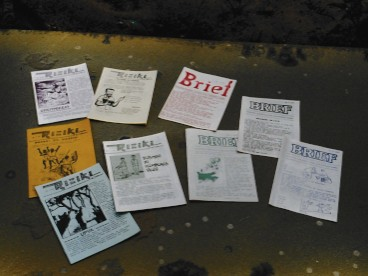 First editions of Riziki and Brief.jpg