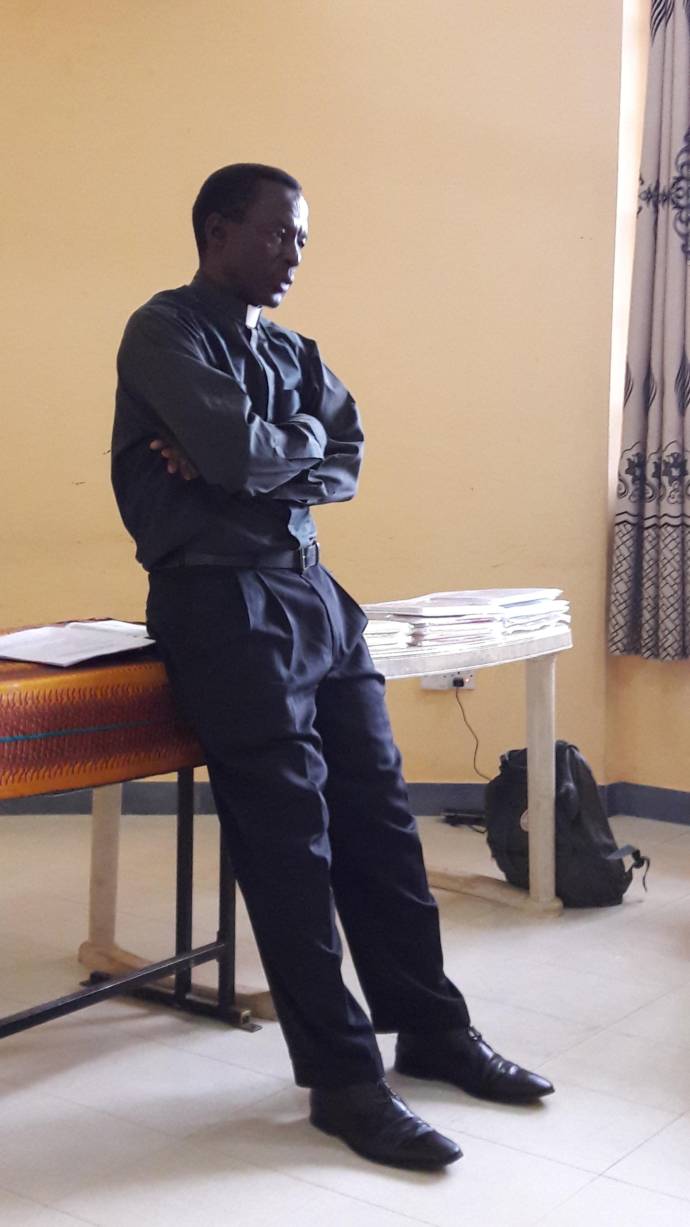 Pastor Oswald Ndelwa from Iringa