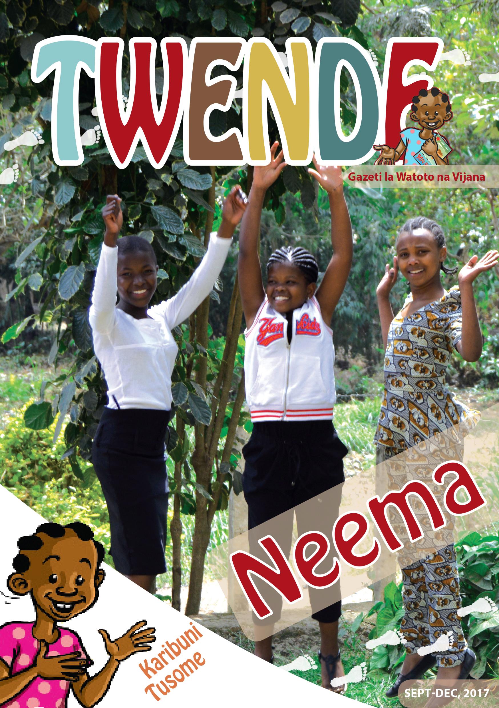 Twende toleo no. 3, 2017 - Neema ni zawadi, tena zawadi kutoka kwa Mungu.Toleo hili lina mambo mzuri yanayofafanua zaidi juu ya neema.