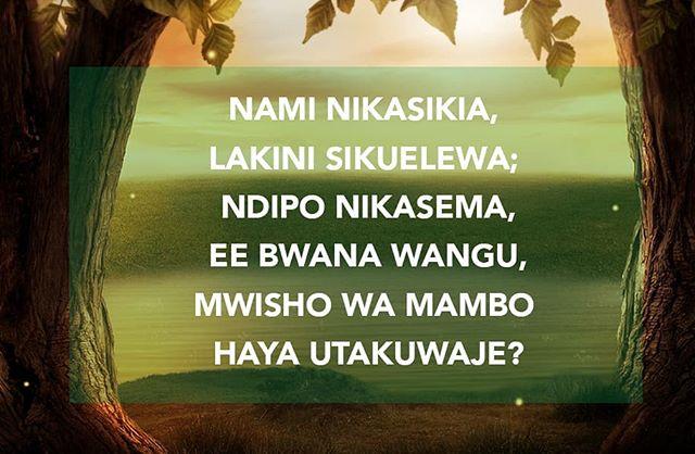 Kitabu cha Danieli kimejaa ujumbe uhusuo wapinzani wa Mungu. Hali ya baadaye imewekwa wazi. Uharibifu utafikia upeo wake, mfalme mfano wa mpinga Kristo atakapojitukuza mwenyewe juu ya Mungu. . . Bonyeza link ufikie mpango wetu wa kusoma Biblia sehemu kwa sehemu kila siku katika App ya YouVersion . @youversion https://partnerportal.youversion.com/plans/9905/days/159538/edit