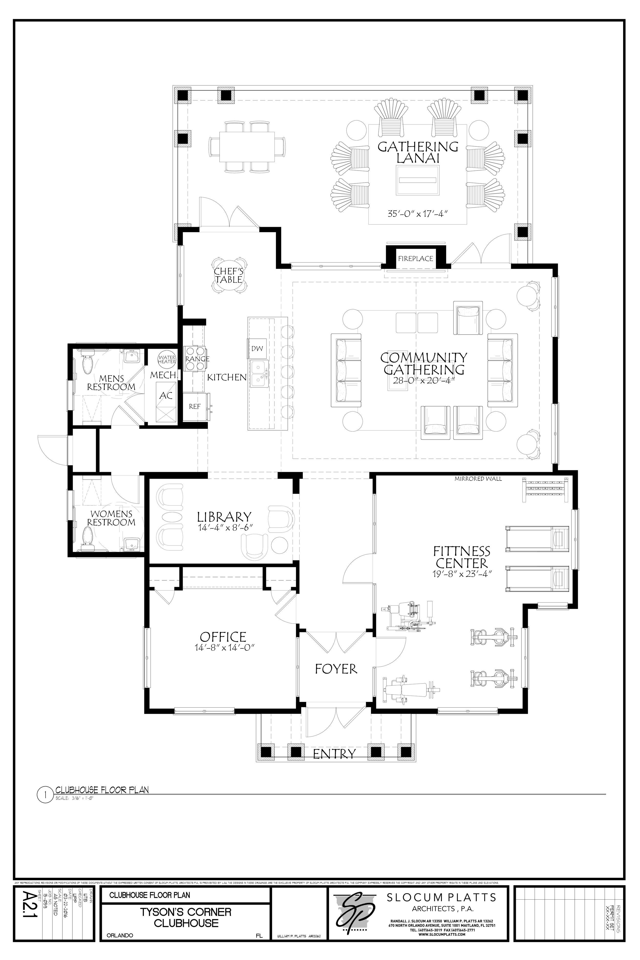Club House Floor Plan Retirement Apartments For Seniors