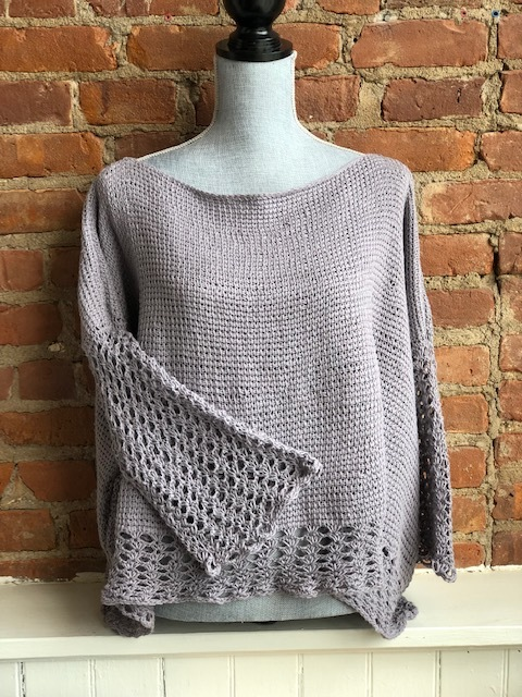 Tunisian Crochet Top