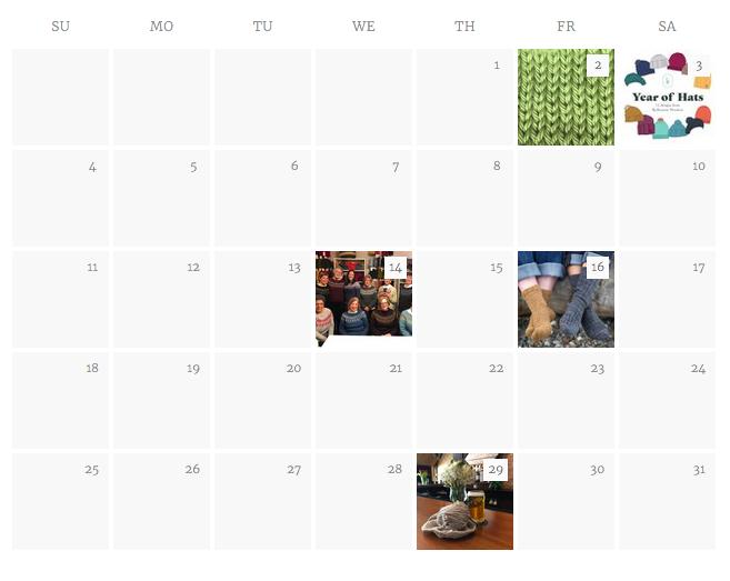 PBYS Calendar Page