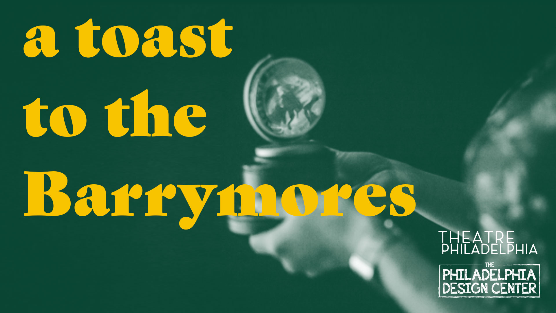 A toast to the Barrymores event banner