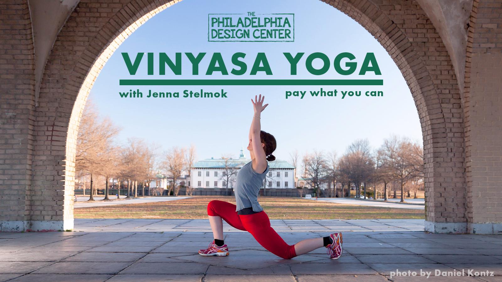 Vinyasa yoga with jenna stelmok photo by daniel kontz