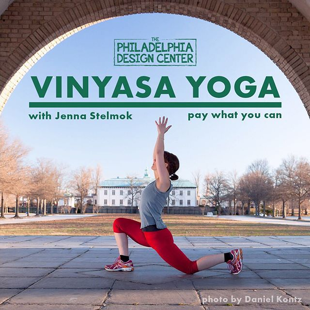 Join us Monday, April 15th at 6pm for pay what you can Yoga in our space! We have a changing area, restroom, & cool water. Bring yourself, your mat, and a friend!