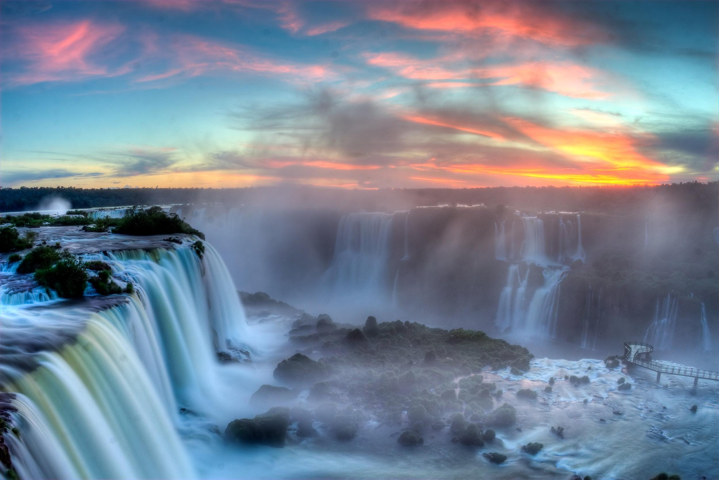 Again, Google Photos to the rescue --Foz do Iguaçu - Brazil / Paraguay