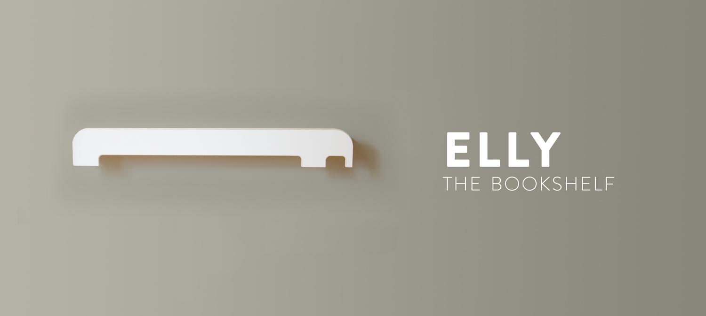 Elly, The Bookshelf