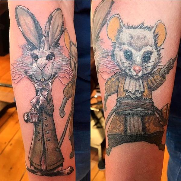 Airynn Monroe Tattoos