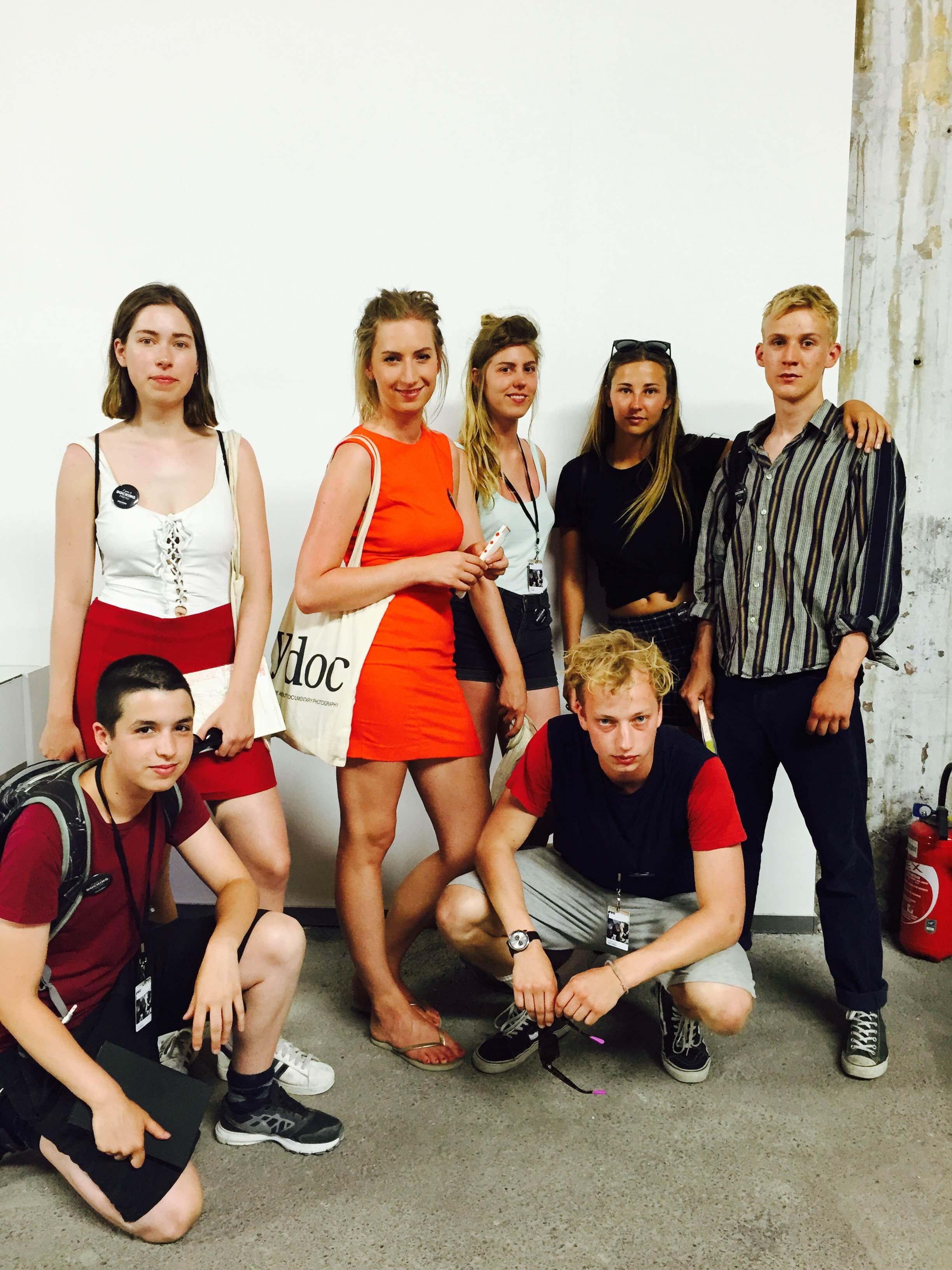 KABK STUDENTS    Stella Loning, Jonathan Hielkema, Nathan Doorduin, Sophie Daalman, David Kerssens, Linnéa Gerrits, Jill Verweijen