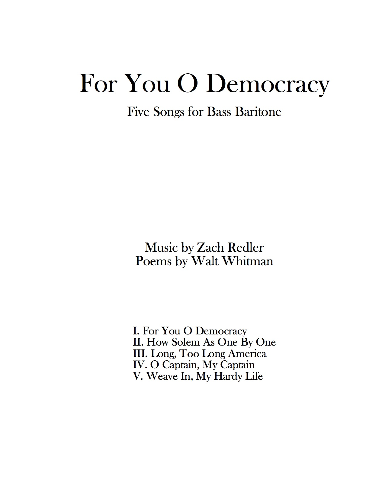 For You O Democracy Cover Page.jpg