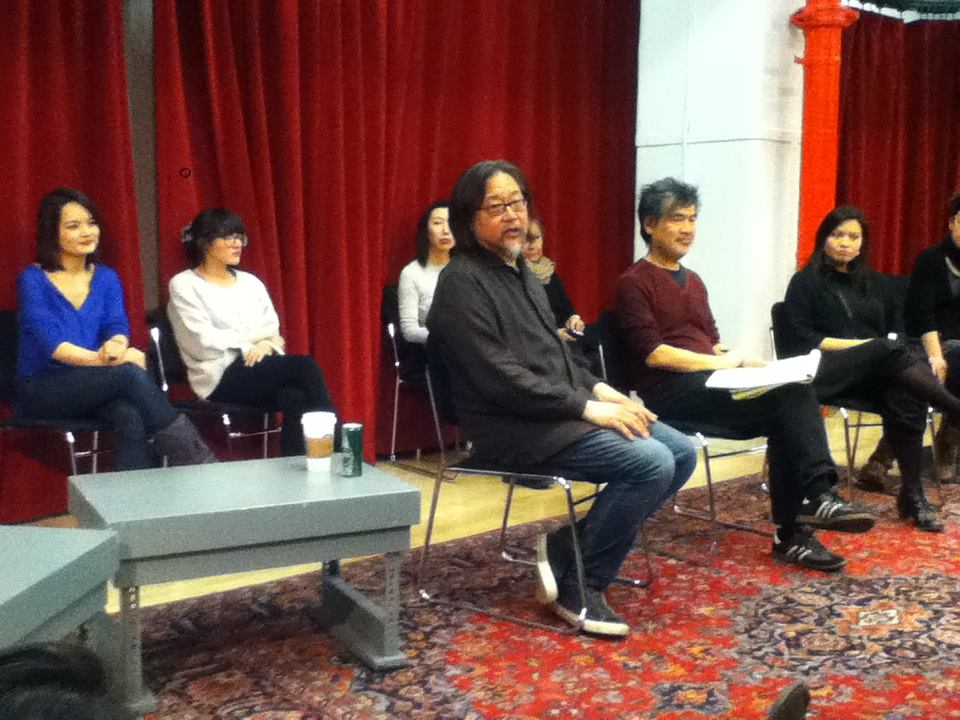 Talk back for Like Shadows with Stan Lai and David Henry Hwang