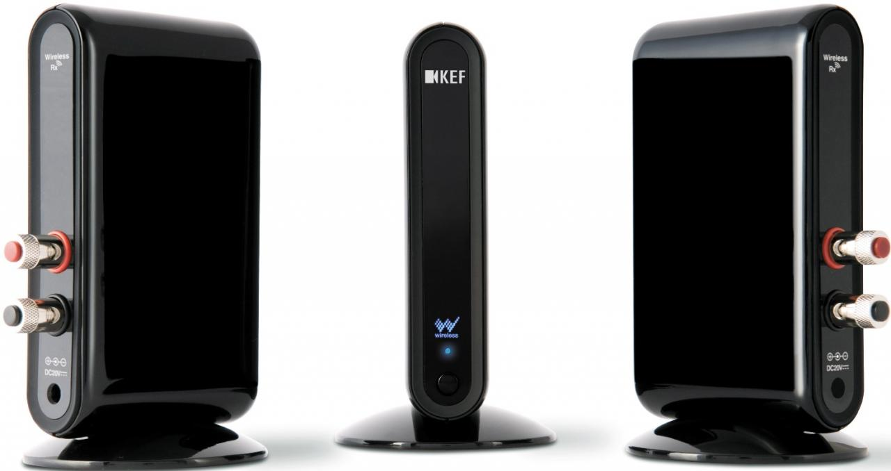 Kef universal wireless system - photograph courtesy of KEF