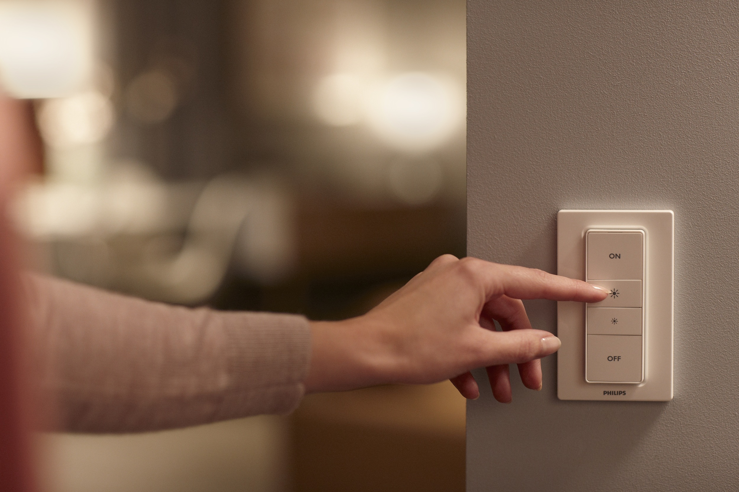 Philips Hue Dimmer Switch - Photograph courtesy of Philips