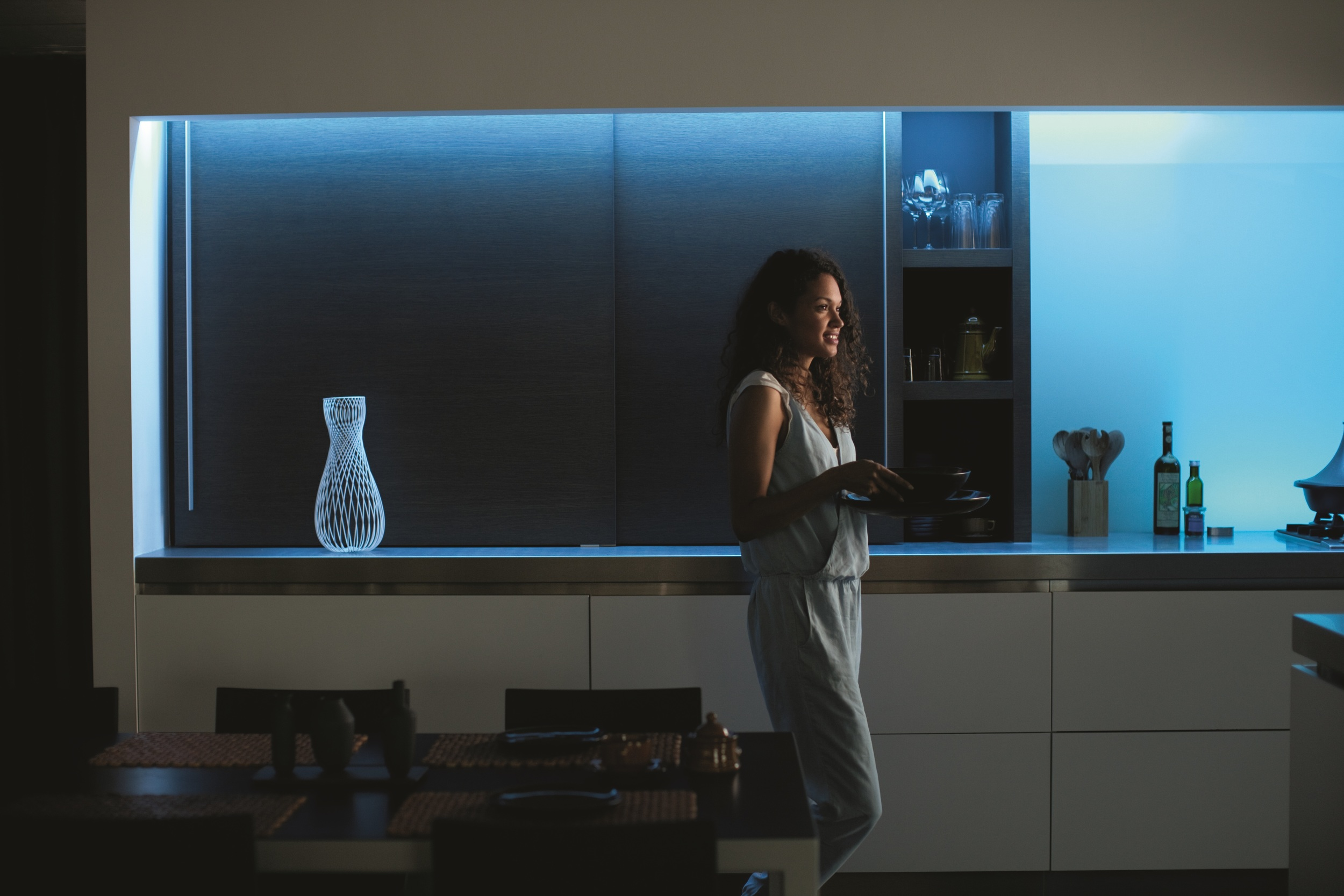 PHILIPS HUE colour ambiance - PHOTOGRAPH COURTESY OF PHILIPS