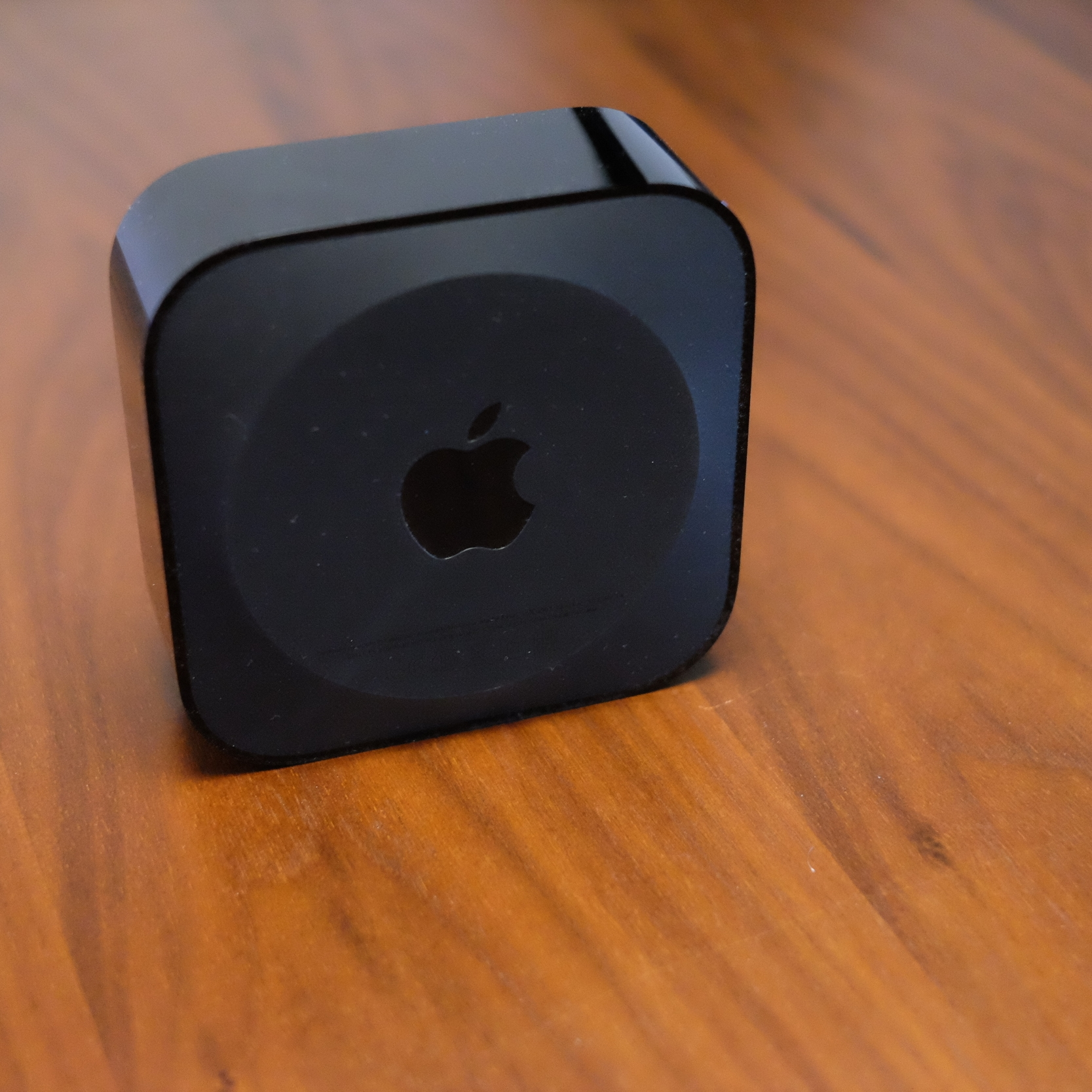 Apple TV bottom side