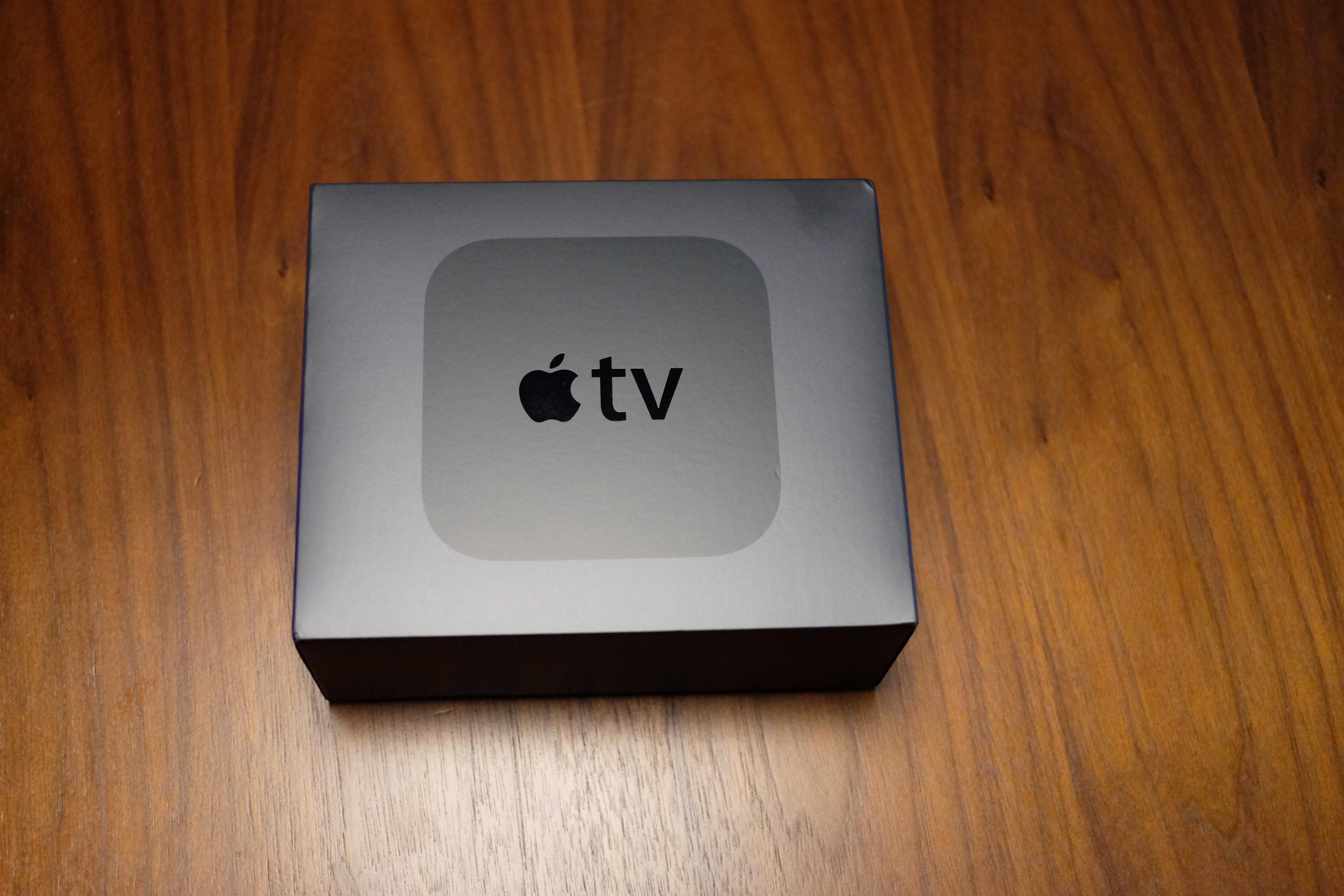 Apple TV packaging - Christmas temptation?