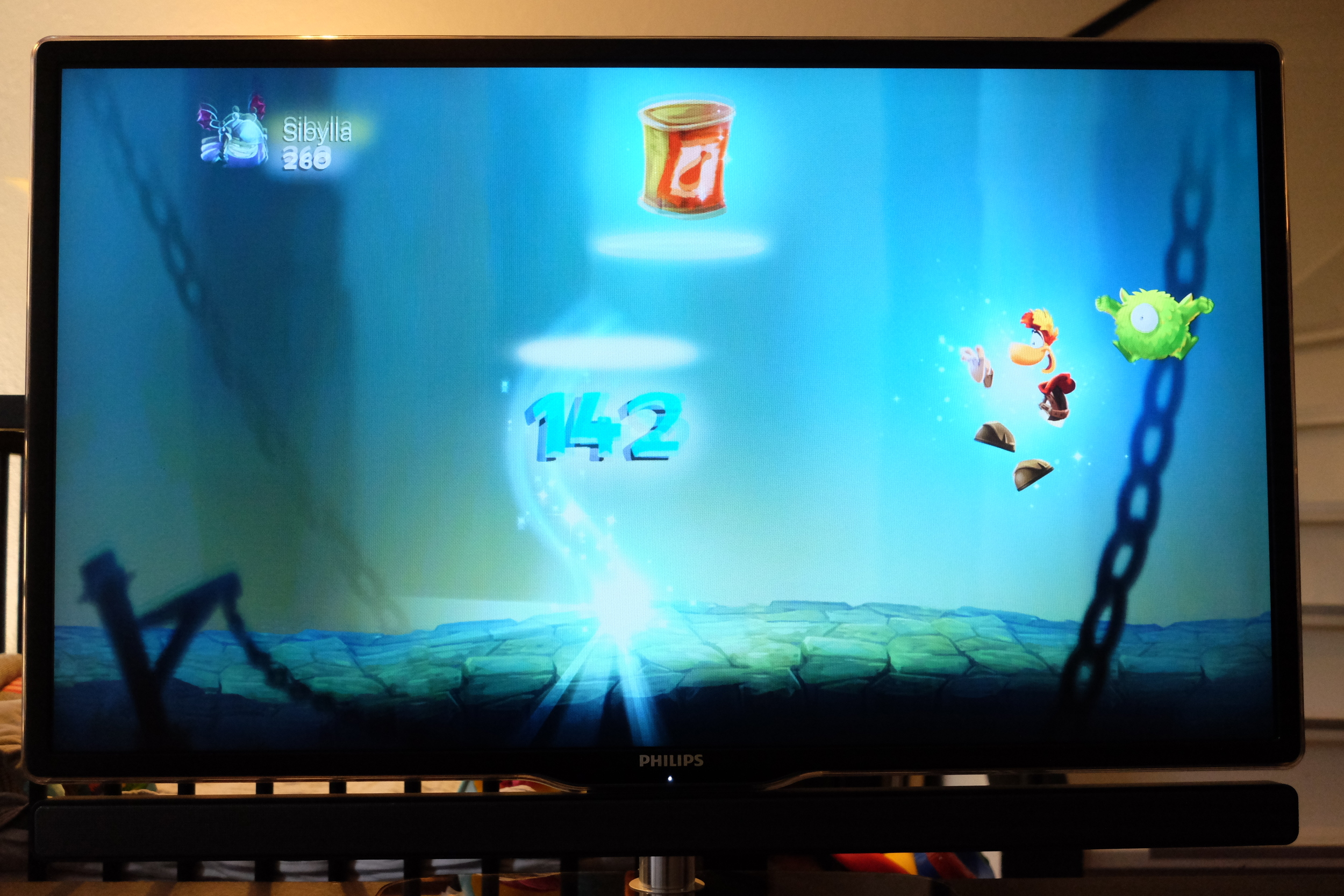 Rayman is one of the first and most interesting game on the appstore