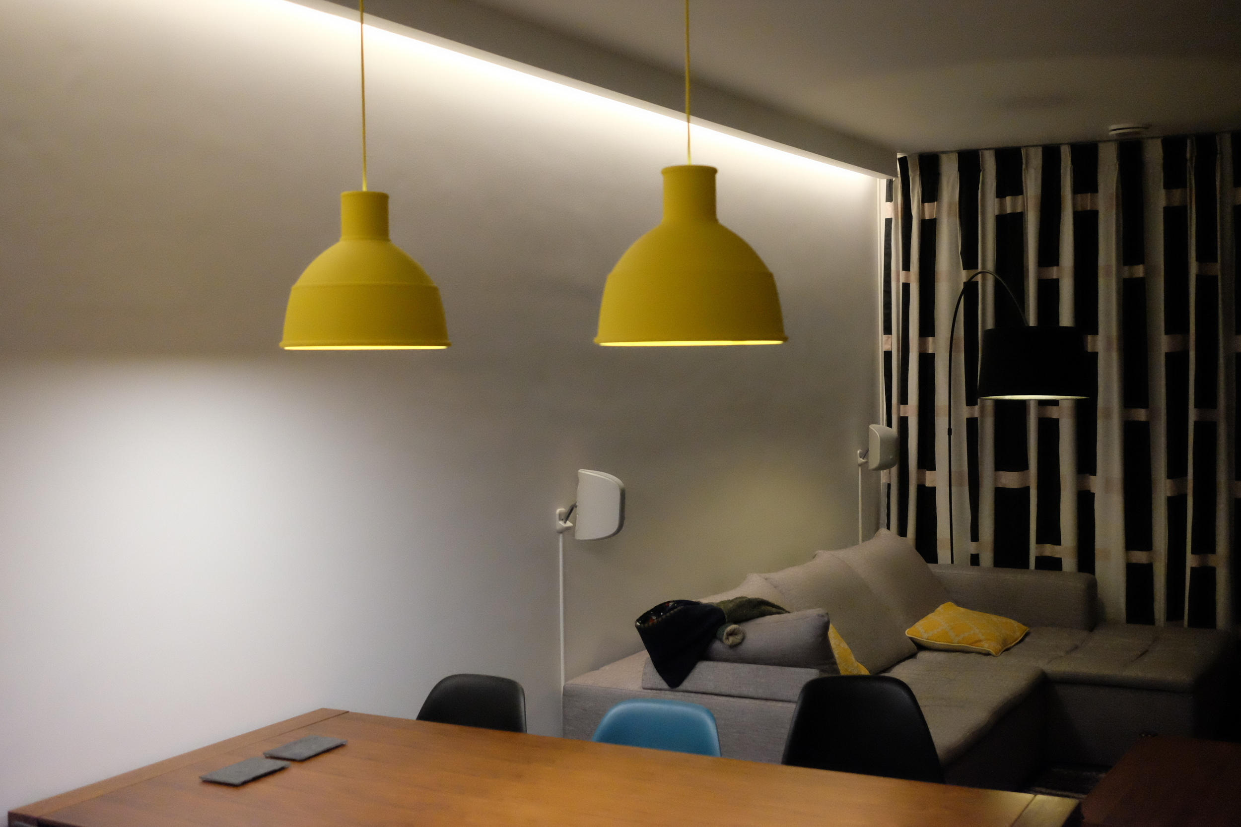 At full power the glow effect really brighten up the room - Photograph Philippe Regnier