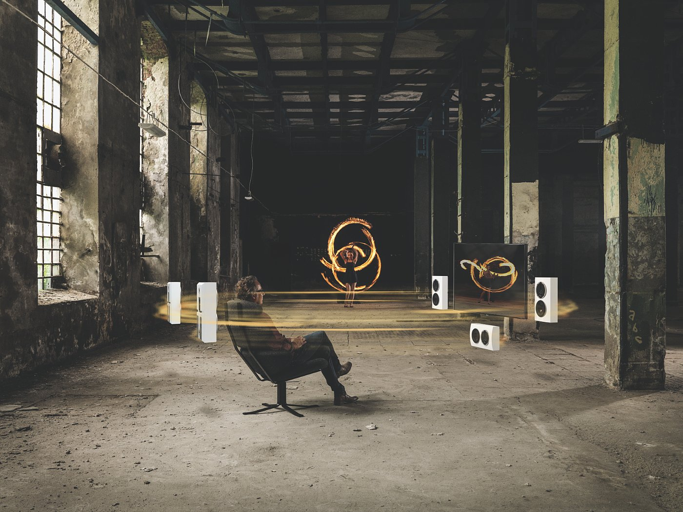DALI RUBICON LCR - PHOTOGRAPH COURTESY OF DALI A/S