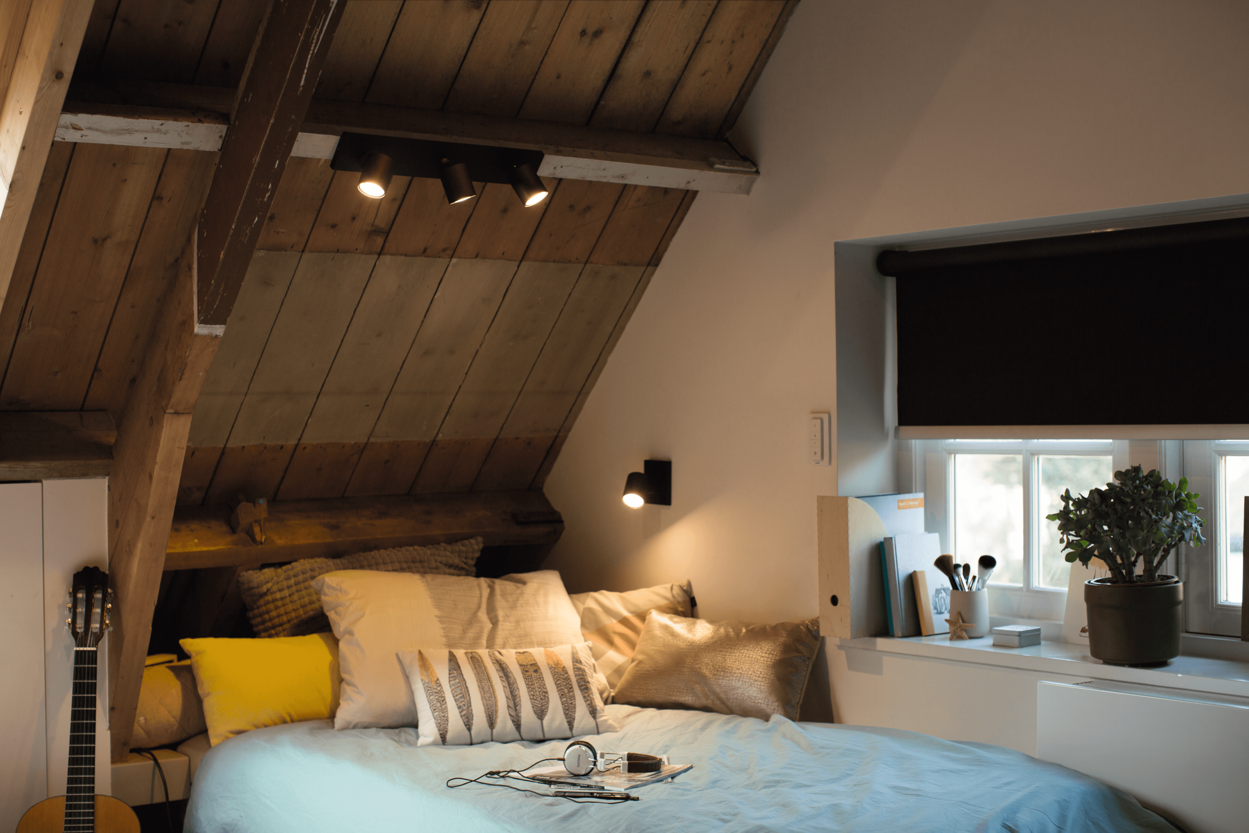 Philips Hue White Ambiance GU10 used with Runner Spot Lights - Photograph Courtesy of Philips