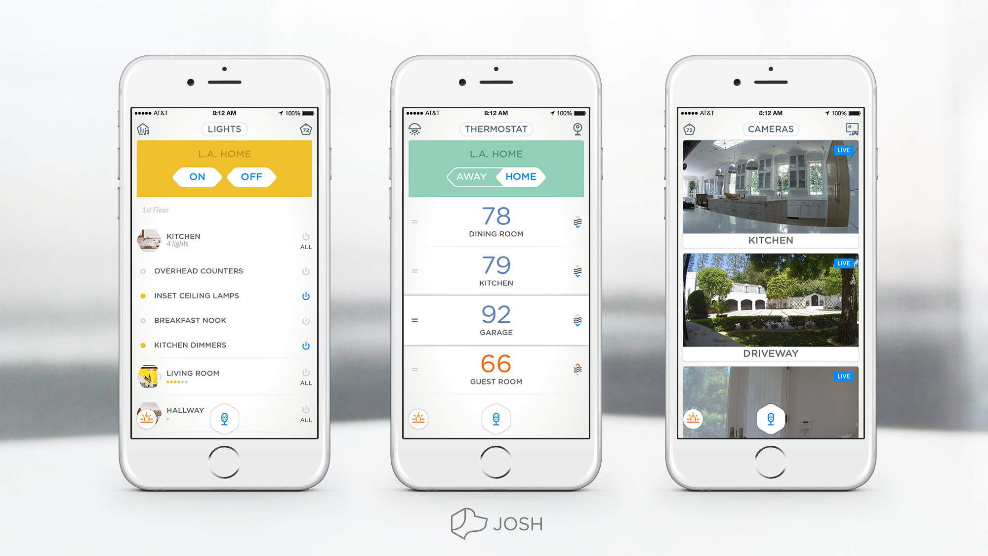 Josh Smart Home Tabs