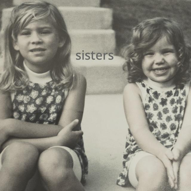I'm the little one with the curls ;)