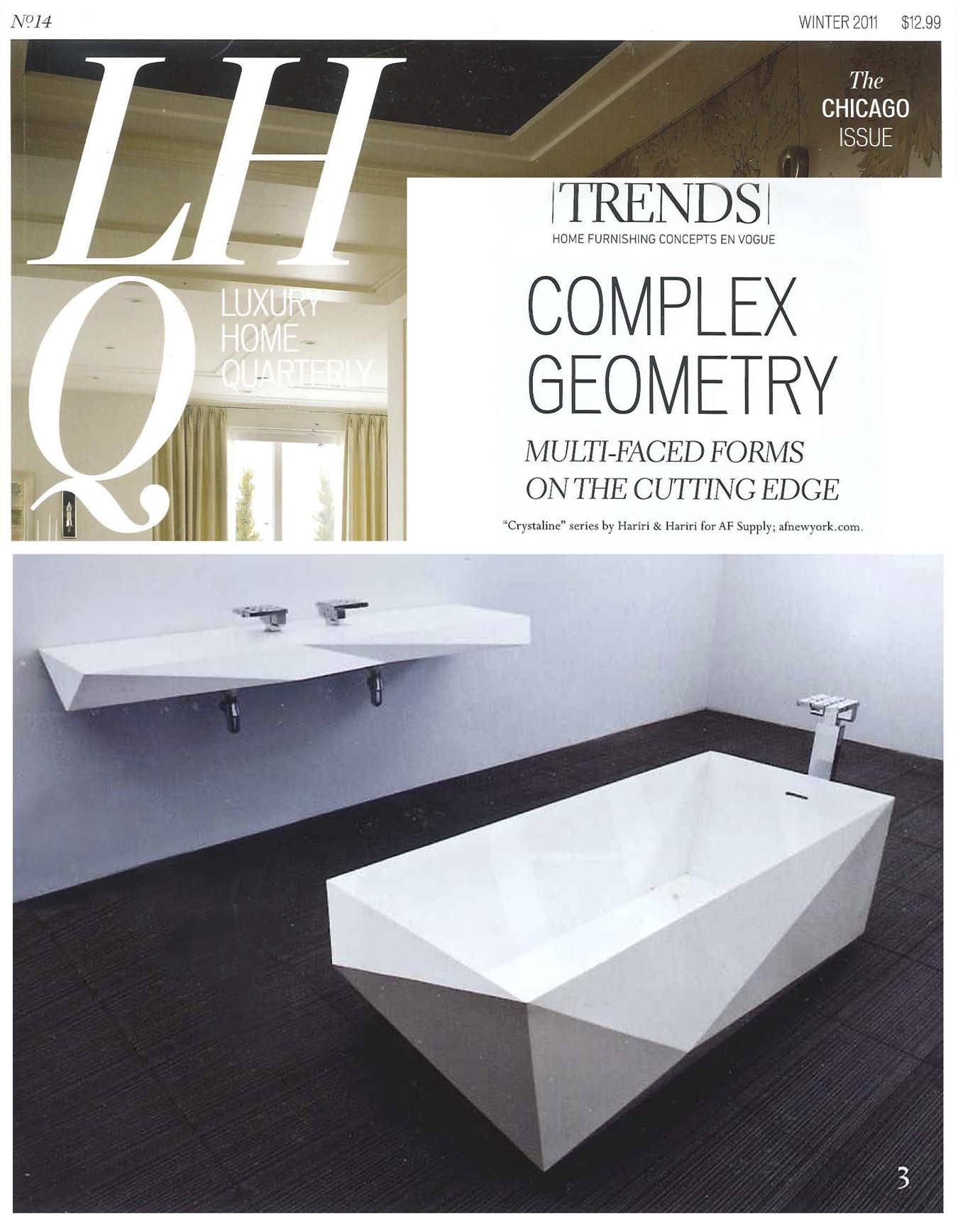 09.11 LUXURY HOME QUARTERLY (PROFILE OF H&H)