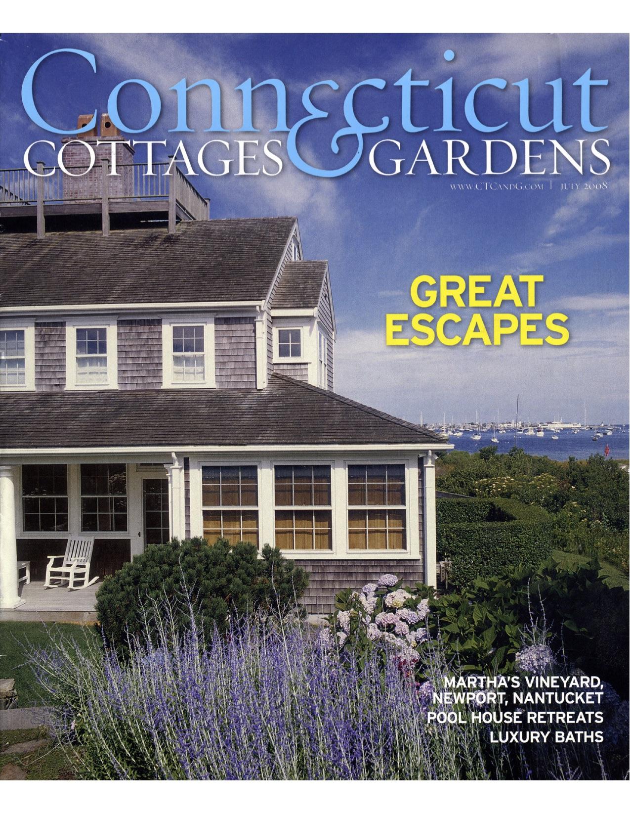 07.08 CONNECTICUT COTTAGES & GARDEN (WILTON POOLHOUSE)