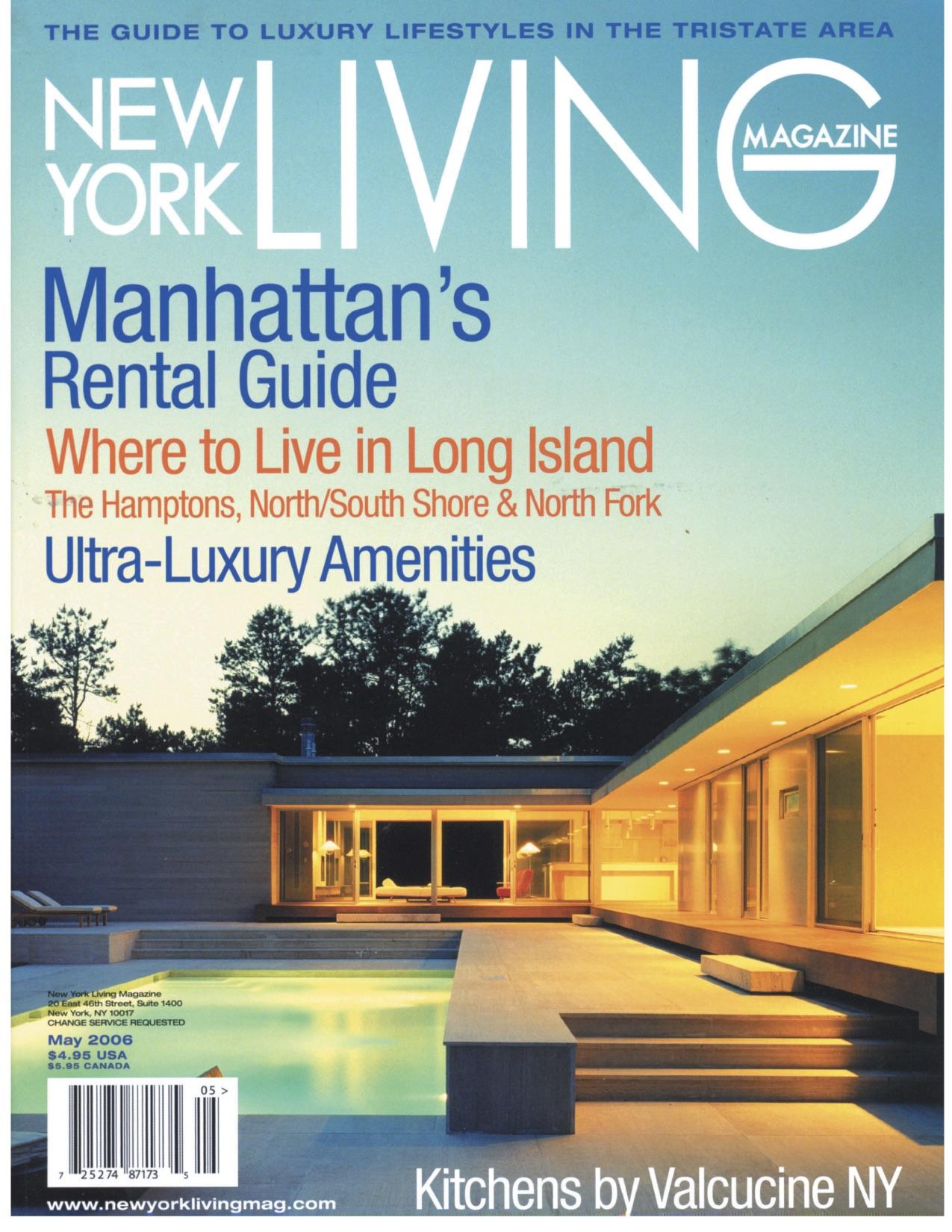05.06 NY LIVING MAGAZINE (SAGAPONAC HOUSE)
