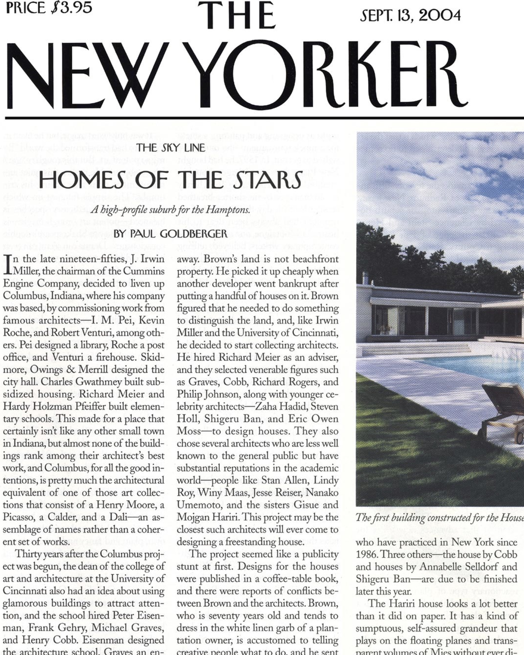09.13.04 THE NEW YORKER (SAGAPONAC HOUSE)