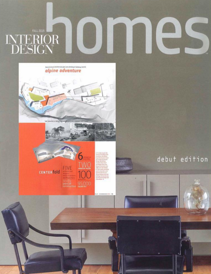 FALL 2015  INTERIOR DESIGN MAGAZINE- HOMES (JEWELS OF SALZBURG)