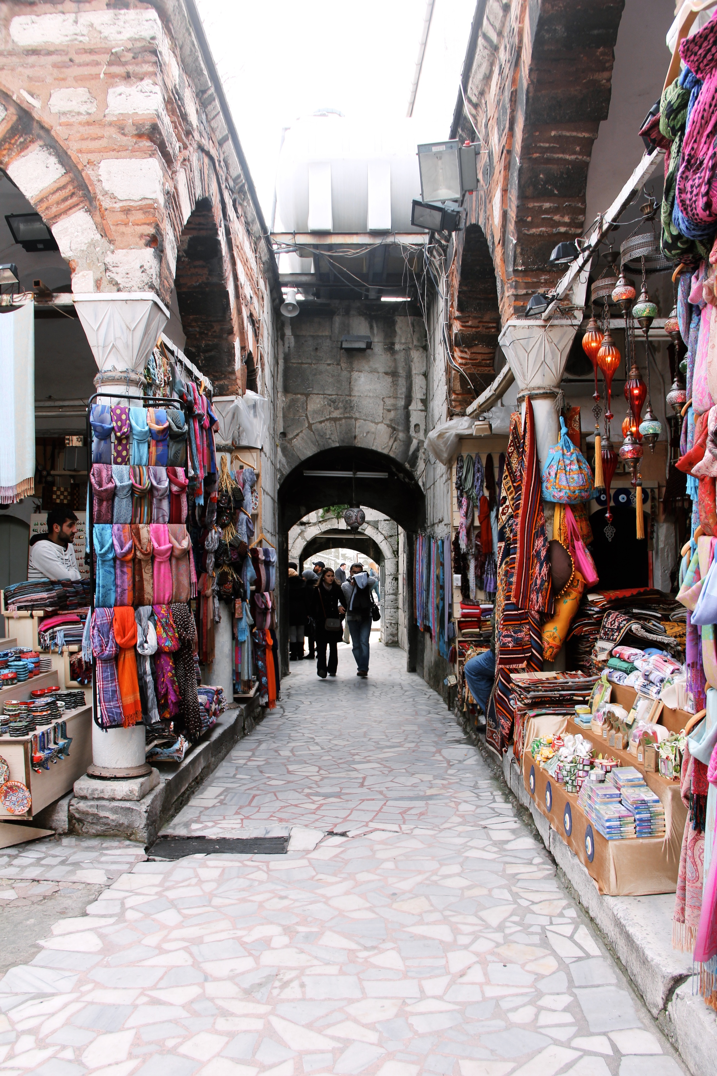 Wandering through little alleyways after visiting the Blue Mosque.