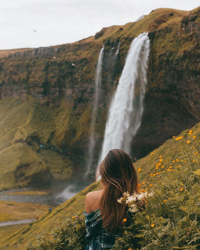 """For it is a true fact that faeries, just like people, very often find that a full belly and a good friend are all that they need to be happy."" - C.S Einfeld 🧚🏻‍♀️ • • • • • #inspiredbyiceland #hiddeniceland #wowair #wheniniceland #traveltagged #girlpowertravel #travelzoo #damestravel #girlsdreamtravel #guidetoiceland #everydayiceland #journeysofgirls #wanderlusters #waterfallsofinstagram #speechlessplaces #mystopover"