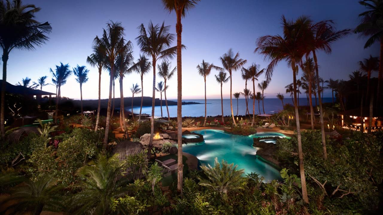 Newly reimagined self sustaining eco retreat, Lana'i by Four Seasons