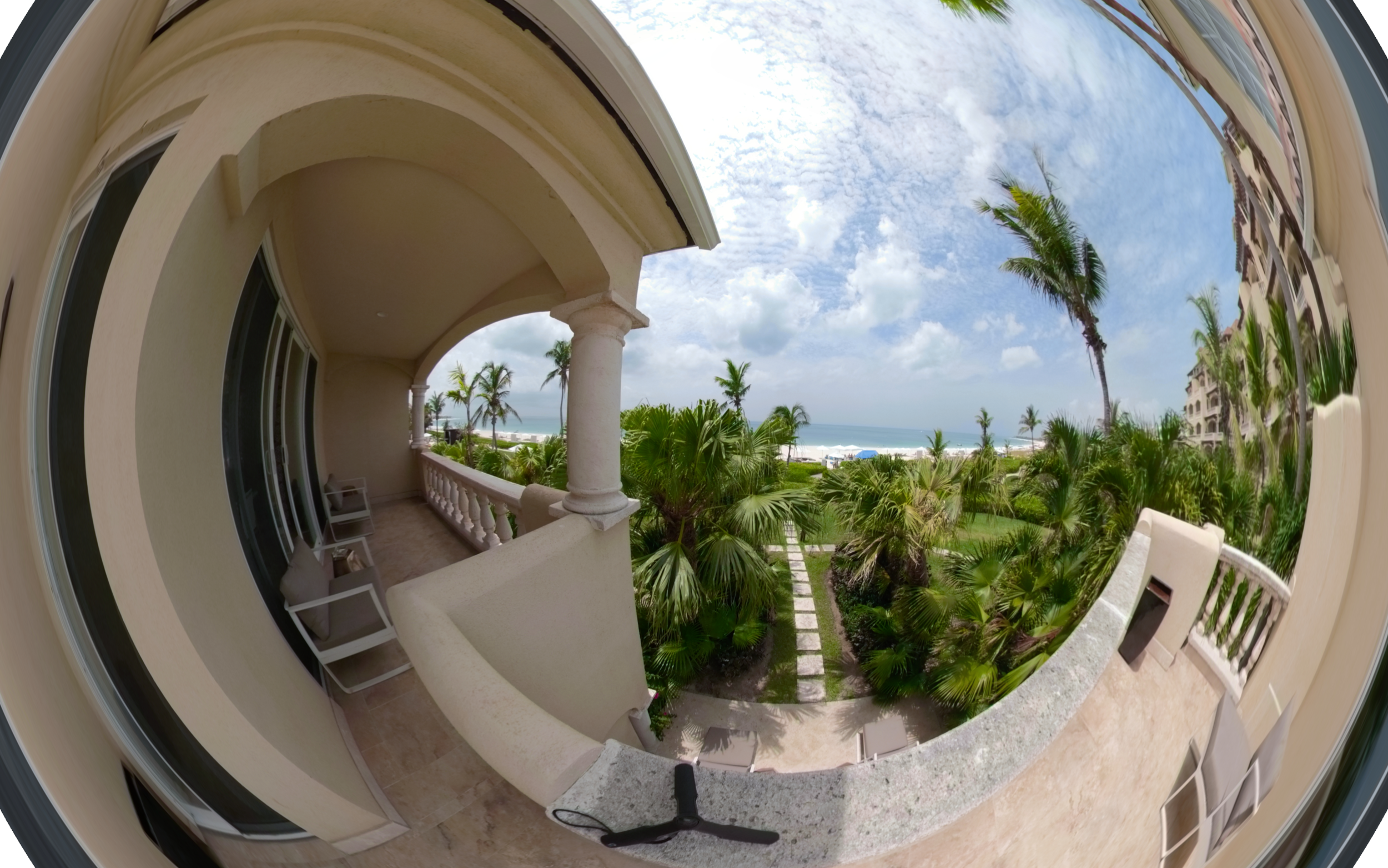 Grace Bay Balcony, Turks and Caicos - Click for VR 360